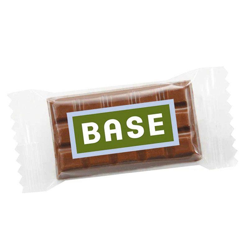 Assez Mini-tablettes de chocolat personnalisées GX67
